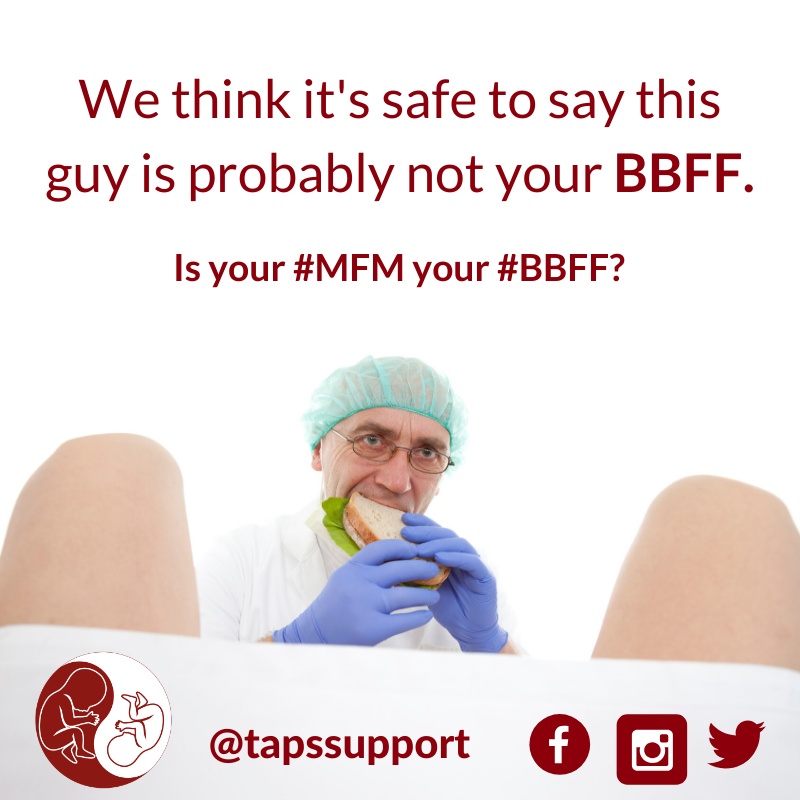 MFM BBFF brain bladder fluid flow taps support twin anaemia polycythemia sequence TTTS SIUGR