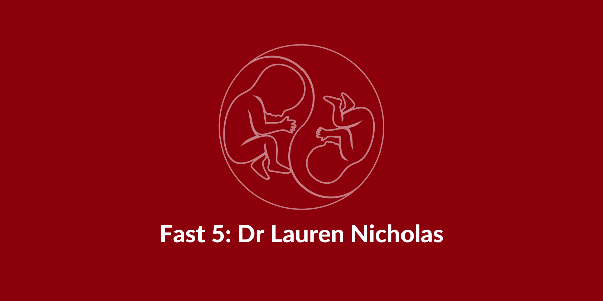 fast five taps support lauren nicholas twin anaemia polycythemia sequence