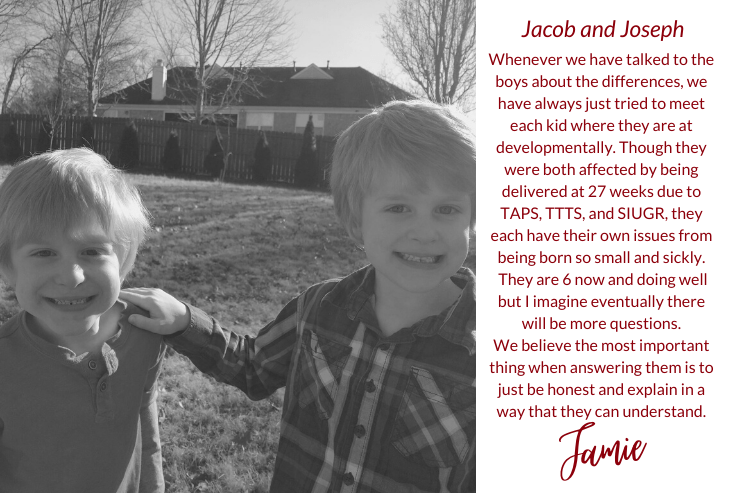 Conversations with Kids: Talking About Twin Complications and Loss
