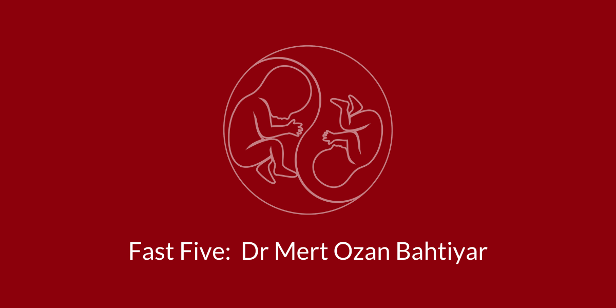 TAPS Support Fast Five: Dr. Mert Ozan Bahtiyar