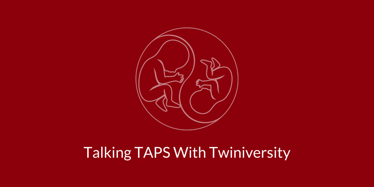 talking taps with twiniversity